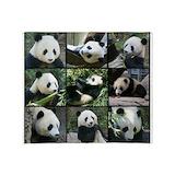 Panda Fleece Blankets