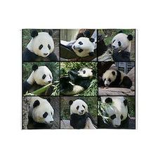 Bear collage Throw Blanket