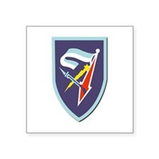 "7th-Armored-Brigade-No-Text Square Sticker 3"" x 3"""