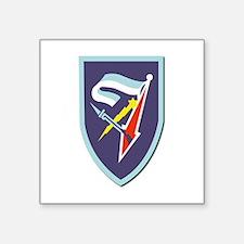"""7th-Armored-Brigade-No-Text Square Sticker 3"""" x 3"""""""
