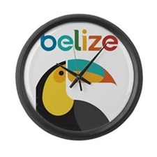 Belize Vintage Travel Poster with Toucan Large Wal