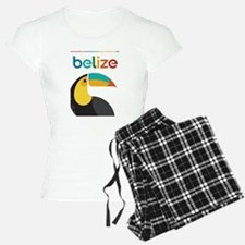 Belize Vintage Travel Poster with Toucan Pajamas