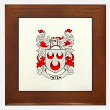 CHEEK Coat of Arms Framed Tile