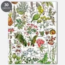 Botanical Illustrations - Larousse Plants Puzzle