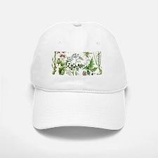 Botanical Illustrations - Larousse Plants Baseball Baseball Cap