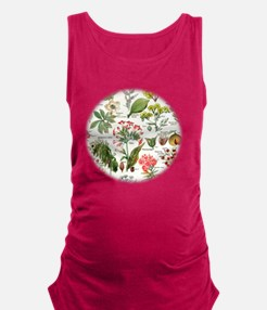 Botanical Illustrations - Larou Maternity Tank Top