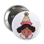 Girl Birthday Button (African American)