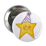 Birthday Star Button