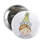 Boy Birthday Button (light hair)