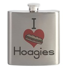 I love-heart hoagies Flask