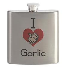 I love-heart garlic Flask
