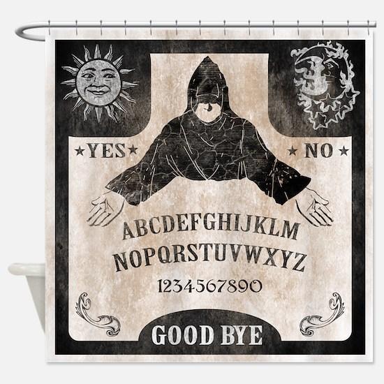 Vintage Ouija Board Shower Curtain