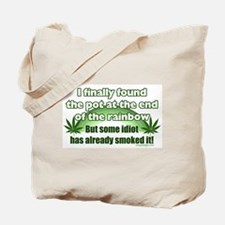 The Pot at the Rainbow Humor Tote Bag