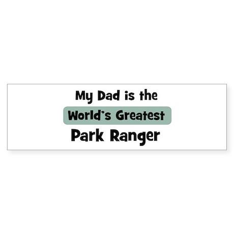 Worlds Greatest Park Ranger Bumper Sticker