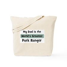 Worlds Greatest Park Ranger Tote Bag