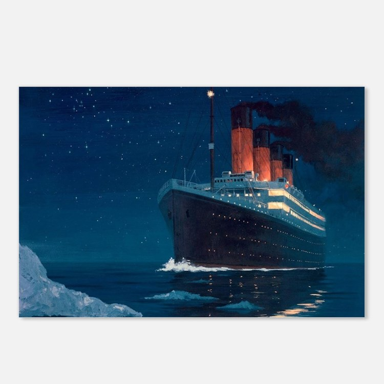Titanic Postcards (Package of 8)