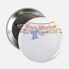 Best Wishes Banner Wedding/Anniversary Button