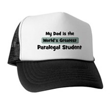 Worlds Greatest Paralegal Stu Trucker Hat