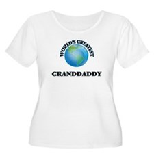 World's Greatest Granddaddy Plus Size T-Shirt