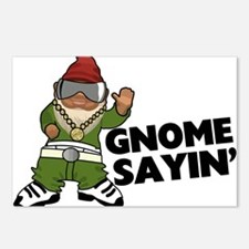 Gnome Sayin Funny Swag Gn Postcards (Package of 8)