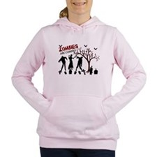 Zombies Are Coming Women's Hooded Sweatshirt