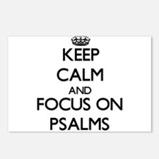 Keep Calm and focus on Ps Postcards (Package of 8)