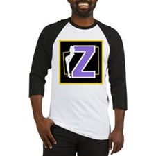 Naughty Initial Design (Z) Baseball Jersey