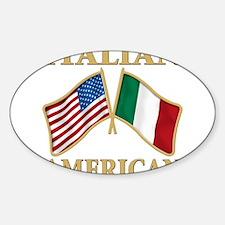 Italian American Decal