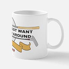 Golfers Putter Around Mug