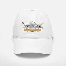 Golfers Putter Around Baseball Baseball Cap