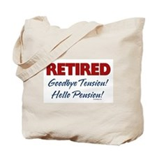 Retired Goodbye Tension Tote Bag
