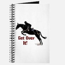 Get Over It! Horse Jumper Journal