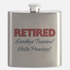 Retired Goodbye Tension Flask