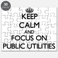 Keep Calm and focus on Public Utilities Puzzle