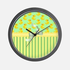 Rubber Ducky's Wall Clock