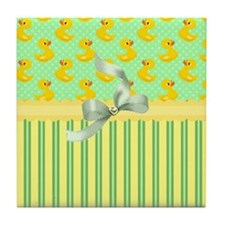 Rubber Ducky's Tile Coaster