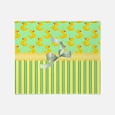 Rubber Ducky's Throw Blanket