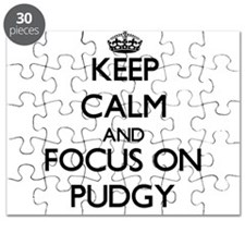 Keep Calm and focus on Pudgy Puzzle