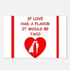 taco Postcards (Package of 8)