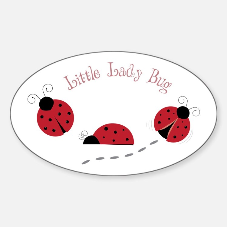 Little Lady Bug Decal