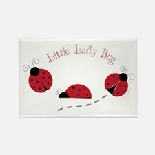 Little Lady Bug Magnets