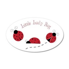 Little Lady Bug Wall Decal