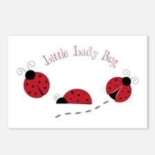 Little Lady Bug Postcards (Package of 8)