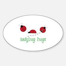 Ladybug Hug Stickers