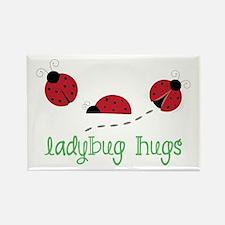 Ladybug Hug Magnets