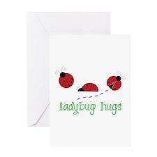 Ladybug Hug Greeting Cards
