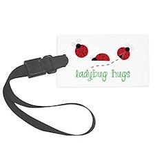 Ladybug Hug Luggage Tag