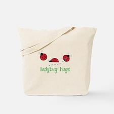 Ladybug Hug Tote Bag