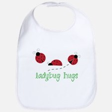 Ladybug Hug Bib