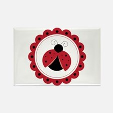 Ladybug Circle Magnets